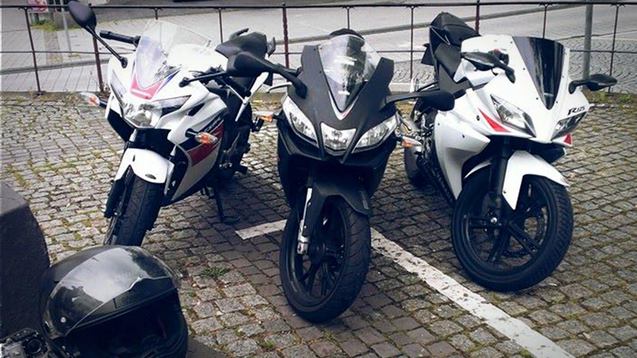 Honda Cbrr Vs Yamaha R