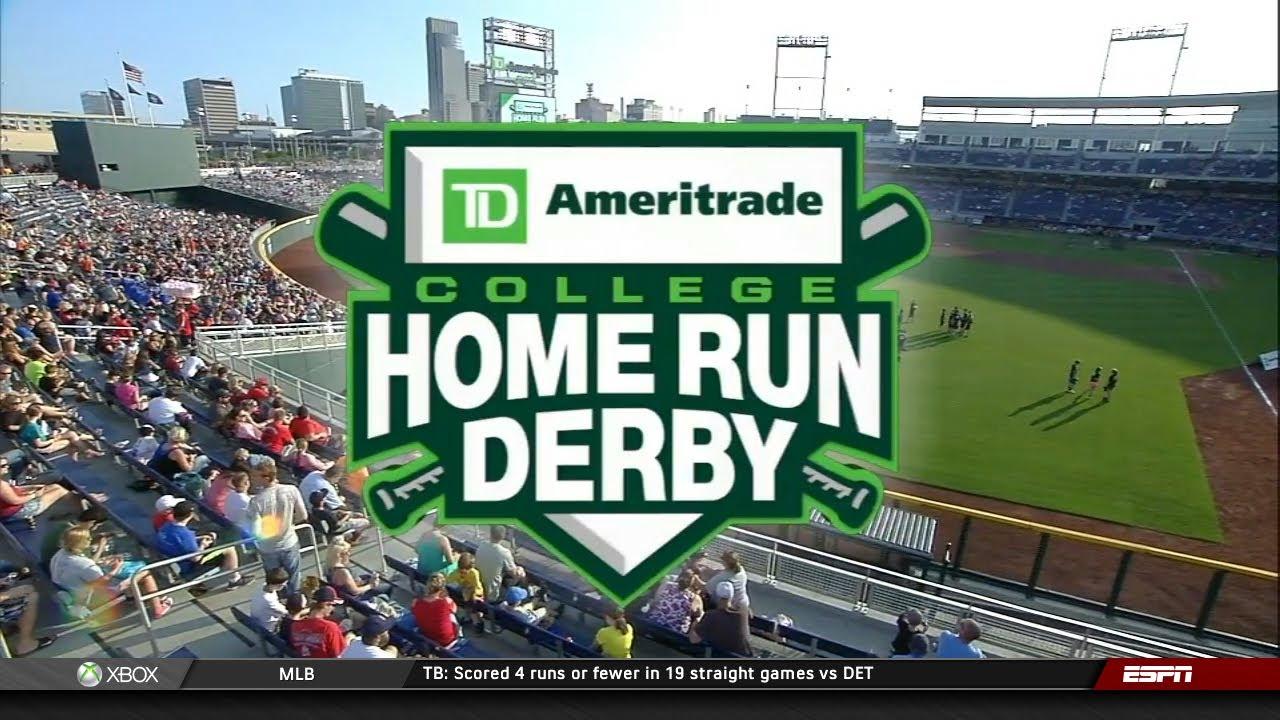 Cws Home Run Derby 2020.Eric Gutierrez Hits 52 At College Home Run Derby