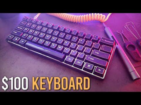 Building A Custom Keyboard Under $100