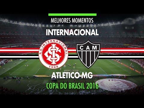 Melhores Momentos - Internacional 1 x 2 Atlético-MG - Copa do Brasil - 26/10/2016