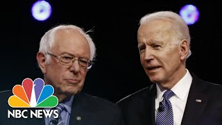 Bernie Sanders Suspends 2020 Presidential Campaign | NBC Nightly News Bernie Sanders announced he is suspending his presidential campaign, all but ensuring Joe Biden will be the Democratic nominee. .While this campaign is ...