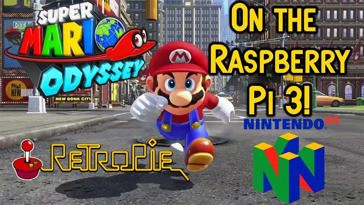 RetroPie Super Mario Odyssey 64 On The Raspberry Pi 3