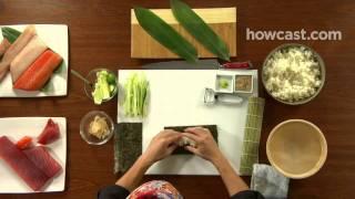 How to Make a Kappa Maki Roll
