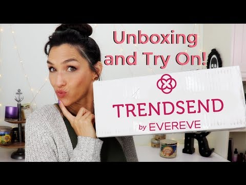 Trendsend  Evereve Unboxing and Try On Review January 2018