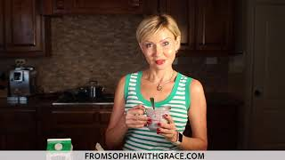Chia Seeds Pudding With Berries For Breakfast  Healthy Recipe From Sophia with Grace