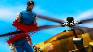 BRUTAL HELICOPTER ACCIDENT (GTA 5 FUNNY MOMENTS)