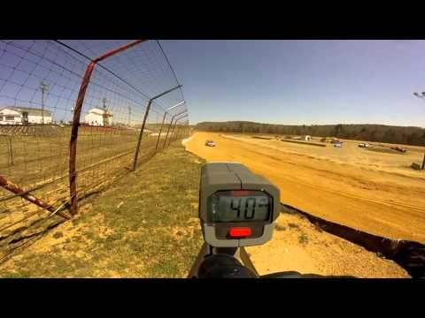 Dog Hollow Speedway - 4/16/16 Pure Stock Practice Session #3