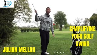 EASIEST SWING IN GOLF, SIMPLIFYING YOUR GOLF SWING, SENIOR GOLF SPECIALIST- JULIAN MELLOR