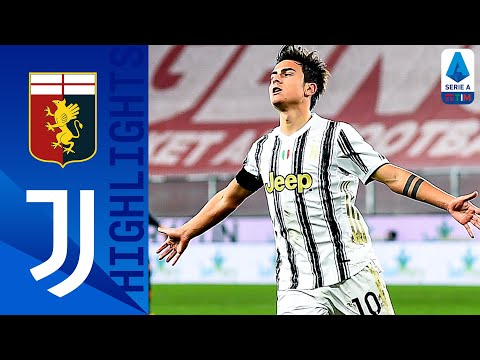Genoa 1-3 Juventus | Goals from Dybala and Ronaldo hand Juve the win | Serie A TIM