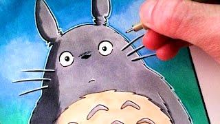 Let's Draw Totoro - My Neighbour Totoro - FAN ART FRIDAY