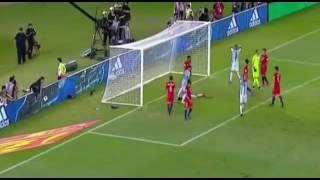 Argentina vs chile 1-0 Highlight goal (24/3/2017)