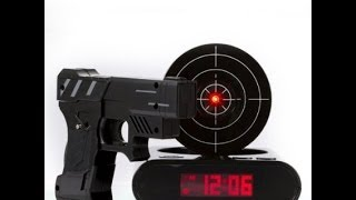 Tech Review: Gun Alarm Clock