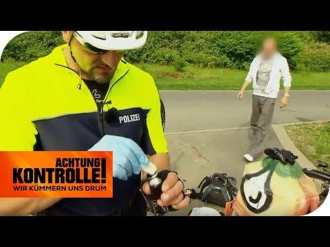 Radfahren auf Crystal Meth : Ist der Fahrauffällige ein Dealer? | Achtung Kontrolle | kabel eins