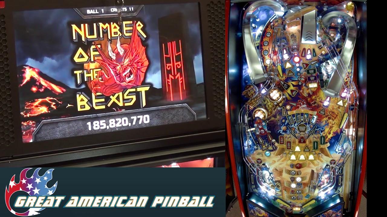 Iron Maiden: Legacy of the Beast | Stern Pinball | Great American Pinball