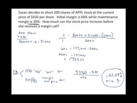 margin call calculator Long vs Short Margin Call and Volatility.mp4 - YouTube