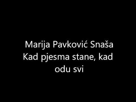 Marija Pavković Snaša