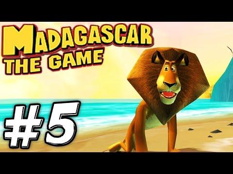 Прохождение игры Мадагаскар - Часть 5 - Прибытие на остров.