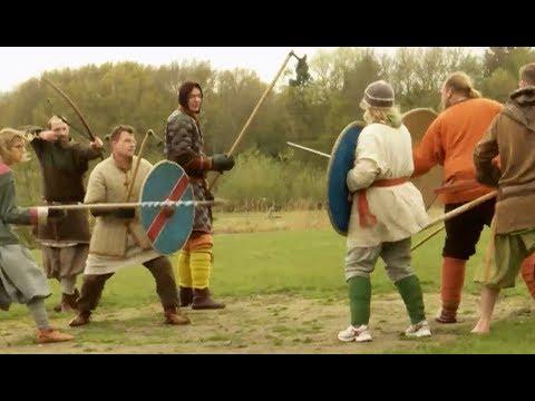 Oldenburger Mittelalter-Fans stellen historische Schlacht nach