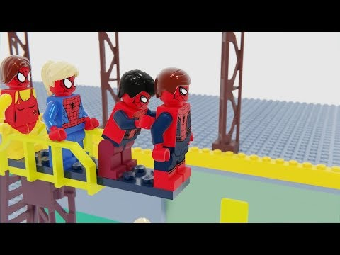 Lego Spider Man Swimming Pool Fail