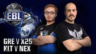 Video EBL LoL: Greek Regenesis vs x25 Esports | KlikTech vs Nexus Gaming | 1. Runda download MP3, 3GP, MP4, WEBM, AVI, FLV November 2017