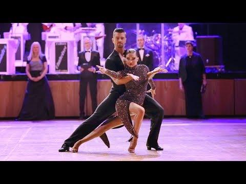 David Riegler - Ksenia Makhortova | 2018 DPV German Ch. Pro LAT, Augsburg - solo C