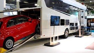 Concorde Liner plus 1600 GMAX : camping-car PL de luxe vu au SVDL du Bourget