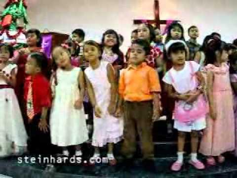 Natal SM HKBP Serpong Kelas Kecil: Gerak dan Lagu Balita