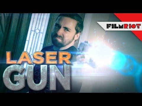 Laser Guns, Toilet Paper & Rainbow Vomit VFX Tutorial!