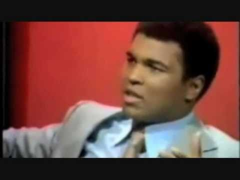 Boxer Muhammad Ali Defends Muslim Women (hijab aka headscarf, scarf, head cover)