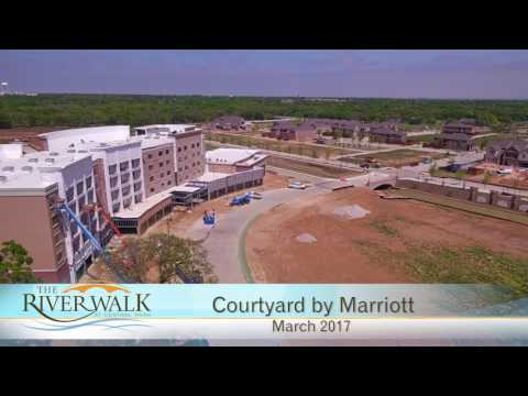 Aerial Video of Riverwalk Construction Progress - March 2017
