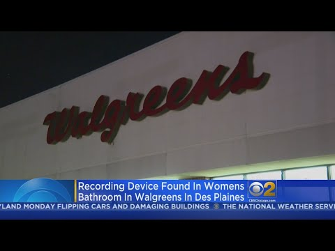 Camera Found Hidden In Restroom At Des Plaines Walgreens