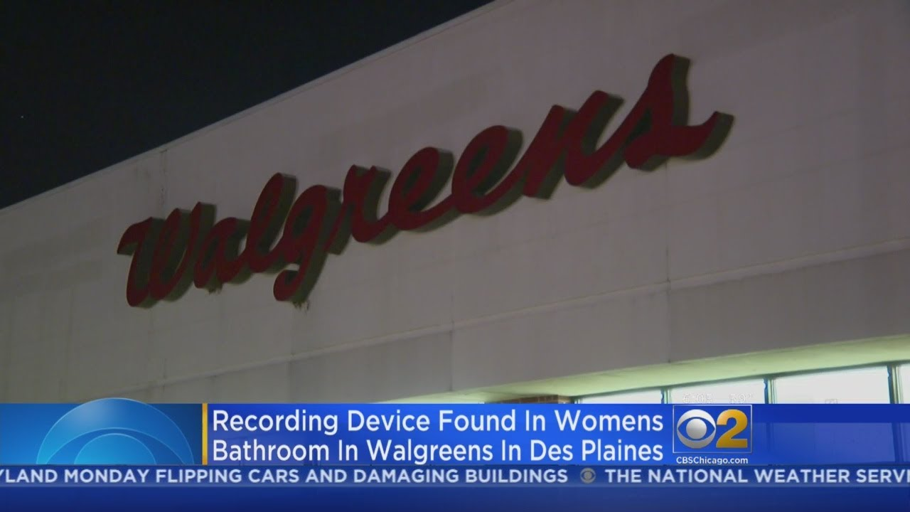 Camera Found Hidden In Restroom At Des Plaines Walgreens