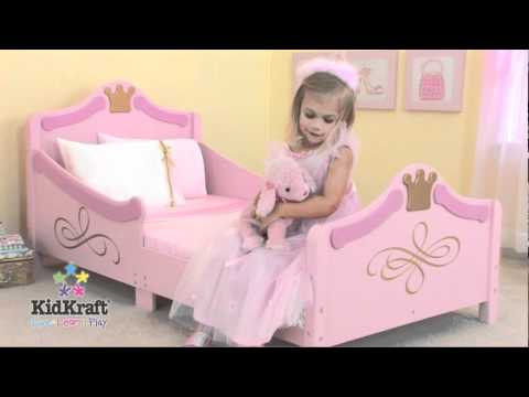 Cama para ni a de kidkraft en eurekakids youtube - Ideas para cabezales de cama ...