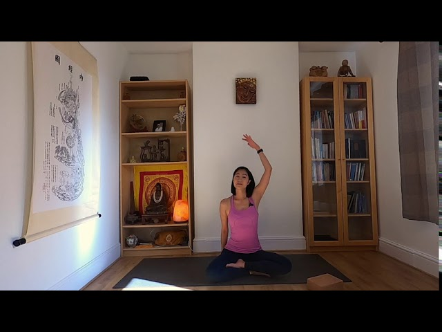 2mins Yoga Class- Shoulder and Neck Stretch