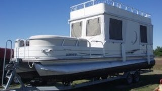 [sold] Used 2007 Sun Tracker 30 Party Hut In Galliano, Louisiana