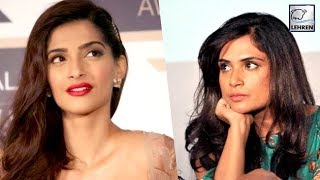 Sonam Kapoor's IDIOTIC Reaction On Richa Chadda's Tweet   LehrenTV