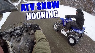 Blaster VS Grizzly Racing & Snow Hooning