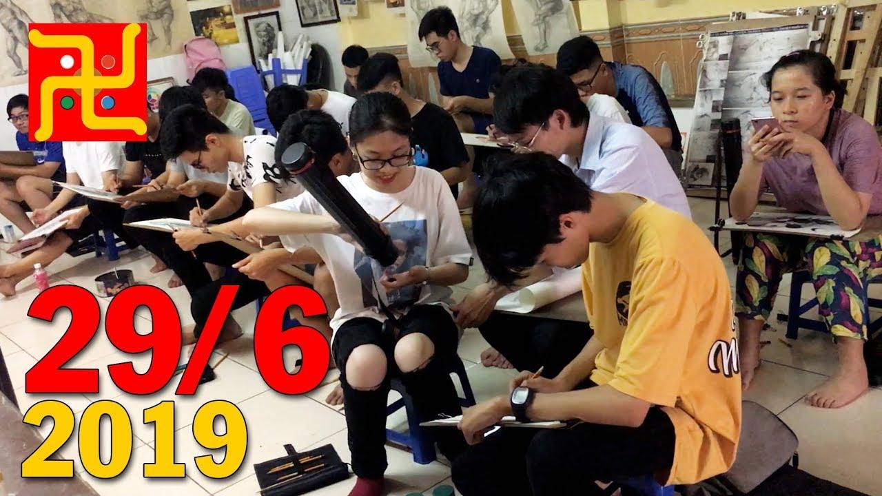 Lớp Vẽ Thầy Quỳnh chiều 29 tháng 6 năm 2019 – Vẽ tĩnh vật