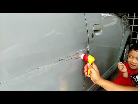 Do it yourself - body car repair dent & scratch