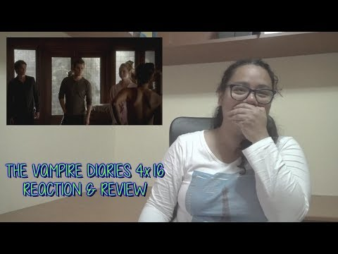 """The Vampire Diaries 4x16 REACTION & REVIEW """"Bring It On"""" S04E16 