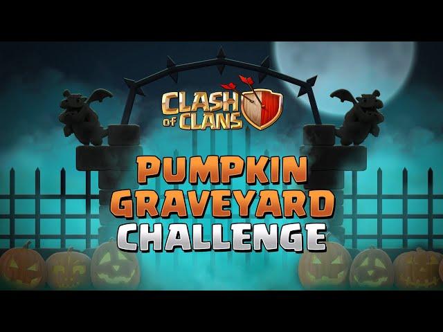 Pumpkin Graveyard Challenge   Clash of Clans