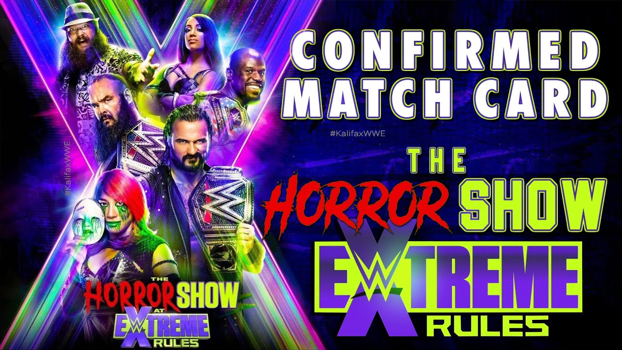 WWE EXTREME RULES: THE HORROR SHOW 2020 | CONFIRMED MATCH CARD PREDICTIONS