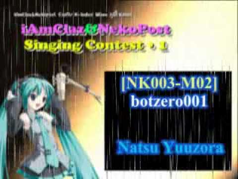 [NK003-M02] botzero001 - Natsu Yuuzora