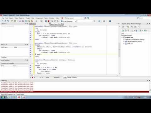 Delphi y RAD Studio XE7 | Parallel Computing Library
