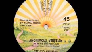 Stelvio Cipriani - Anonimous Venetian (1979) disco (vinyl)