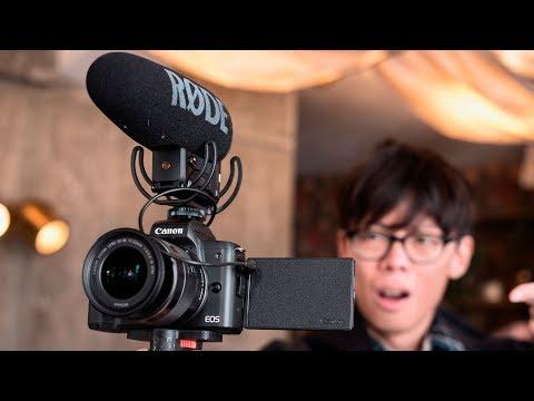 Canon EOS M50 - 4K Mirrorless APS-C Camera!