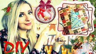 Подарки на Новый год своими руками ❄️ Идеи Новогодние открытки DIY Holiday Christmas cards