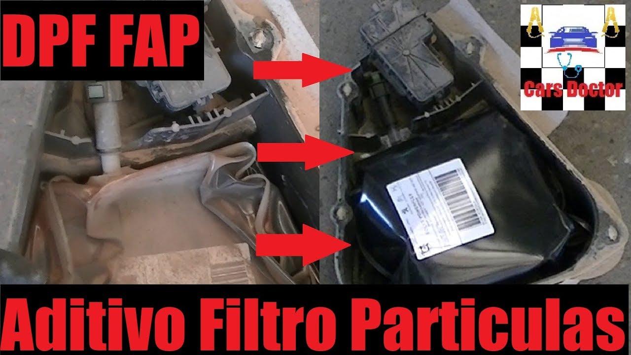 Peugeot 208 508 Partner 1.6 HDi DPF filtro de partículas aditivos Tanque Tapa
