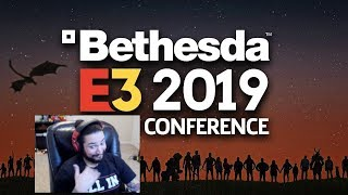 UberHaxorNova Reacts to Bethesda E3 2019