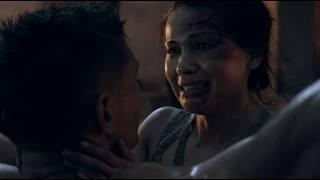 Сериал Спартак. Эномай наказывает Крикса. Нэвию уводят в рабство